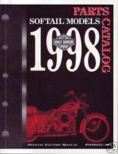 HARLEY-DAVIDSON Teilebuch Softail Springer Heritage Fat Boy 1998 Buch 99455-98A