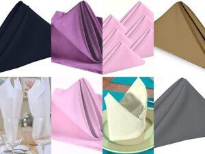 Napkin Kitchen Cotton Cloth Napkins Linen Bar Textile Reusable Dining Occasions