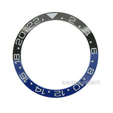 High Quality Black/Blue Ceramic Bezel Insert made for Rolex GMT-Master II