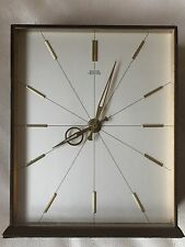 """A Vintage Of 1960's """"SMITHS TEMPORARY"""" 8 Day British Mechanical Move Clock"""