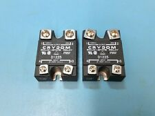 Crydom D1225 Solid State Relay (qty 2)