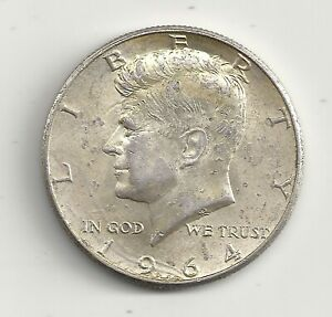 Etats Unis half dollar 1964 Kennedy argent 12,5 grs superbe