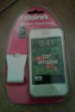 BRAND NEW! Claire's Clear iPhone Hard Case-Fits Original iPhone/iPod - L@@K!!