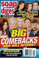 Soap Opera Digest Magazine - December 19, 2016 - The Best & Worst of the Year