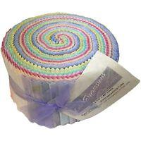 Lullaby, Bali Color Expressions Pinwheel 40, 2.5'' x 43'' - Benartex
