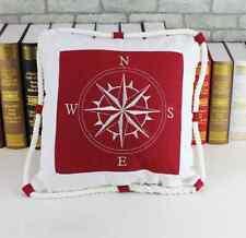 Modern Canvas Rope Nautical Boat Anchor Seafarer Decor Sofa Pillow Cushion Cover