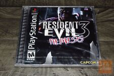 Resident Evil 3: Nemesis 1st Print (PlayStation 1, PS1 1999) FACTORY SEALED!