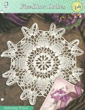 Spinning Wheel Crochet Pattern - Five-Hour Doilies HOWB Doily Series