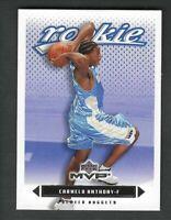 Carmelo Anthony 2003-04 Upper Deck MVP Rookie Card #203 Gem Mint PSA Gradable