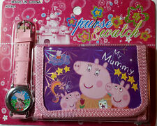Kids Children Watch and Wallet Gift Set Cristmas/Birthday Gift Idea