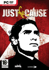 PC - JUST CAUSE - Original Packaging  DVD Rom Brand New