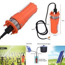 """1/2"""" Bomba de Pozo de Agua Sumergible Energía Solar DC 12V 6.5L/M Deep Well Pump"""