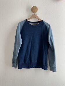 Han Kjobenhavn Blue Sweatshirt Size Large