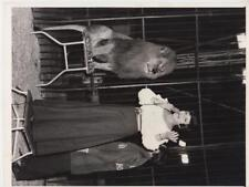 Ricky the Lion and Eve Boswell 5/8/73-Press Photo