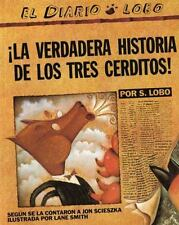 ¡La Verdadera Historia de los Tres Cerditos! by Jon Scieszka NEW PB Spanish