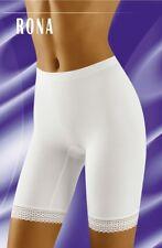 Wolbar Rona Sze 14 Shapeing Shorts Long Leg Knickers Pantee Modal Elastane White
