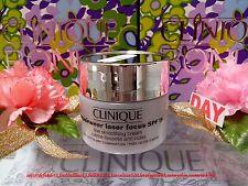 """Clinique Repairwear Laser Focus SPF15 Line Smoothing Cream◆(0.5oz/15ml)◆""""FREE/P"""""""