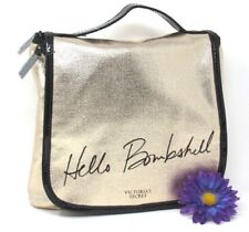 Victoria's Secret Hello Bombshell Rose Gold Hanging Travel Toiletry Bag, NWT