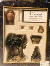 Fontanini Nativity Village Accessory Vineyard Accessories - In Original Box