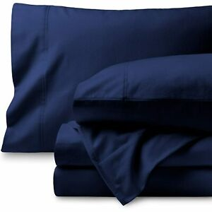 Australian Bedding Items Cotton Double/Queen/King/Super King Navy Blue Solid