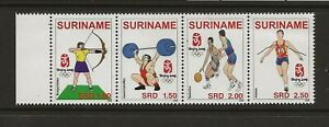 SURINAM/SURINAME Sc 1369 NH issue of 2008 - STRIP - OLYMPICS