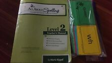 All About Spelling Level 2 Teachers Manual & Cards