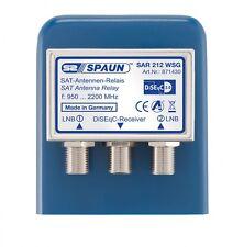 SPAUN SAR 212 WSG DiseqC Schalter 2-1 mit Wetterschutzgehäuse HDTV 3D