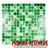 Mosaik Glas Goldensilk grün Wand Sauna Bad Küche WC Boden| 54-0504_f | 10 Matten