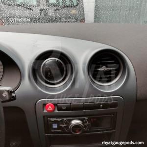 Seat Ibiza 6L 60mm - Zusatzinstrumente Halter Manometer Messgerät Gauge Pod