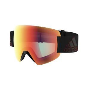 Adidas Progressor Splite Black Red/Light Red Cat 1 Ski Goggles Holiday Sport