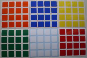 Magic Cube Stickers 4x4 62mm Shengshou