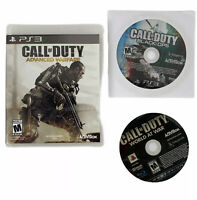 PS3 Game Lot Of 3: Call Of Duty Advance Warfare, Black Ops, & World At War