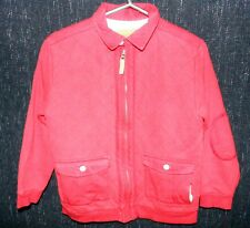 TED BAKER Boys Age 7-8 Red Padded 100% Cotton Spring / Summer Coat / Jacket