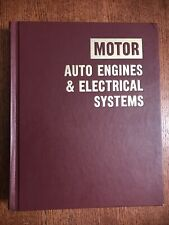 MOTOR Auto Engines and Electrical Systems Repair Manual, 7th Edition 1977