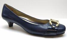 979e4be8365c Bandolino Blue Leather Dress Career Pumps Heels 6M 6 NEW MSRP  89