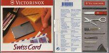 VICTORINOX SwissCard / SWISS CARD ; 11 Funktionen / Functions ; weiss; UNBENUTZT