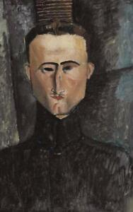 Amedeo Modigliani Andre Rouveyre Giclee Print Repro on Canvas