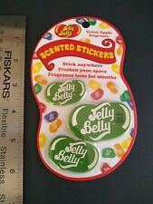 Scented Stickers Jelly Belly Jelly Beans Stickers Lot of 3 NIP Cherry Scent