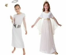Kids Girls Fairy Costume Childs Book Day Angel Fancy Dress Outfit Age 3-10