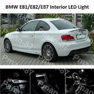 DELUXE BMW E81 E82 E87 1 SERIES COUPE LED INTERIOR UPGRADE KIT SET WHITE NEW