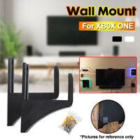 2X Muro Supporto Per XB0X Uno TV Facile da Installare Montaggio a Parete