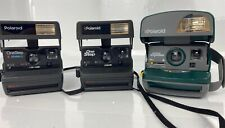 Lot of 3 Polaroid 600 Camera's & OneStep Express Close Up Cameras