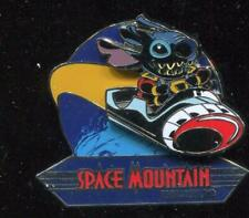 Retro Space Mountain Stitch Disney Pin 107100