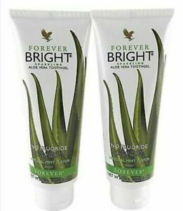 2 x Forever Bright Tooth Gel - Contains Bee Propolis - Protects Teeth & Gums