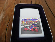 GENUINE ZIPPO LIGHTER INDY RACING LEAGUE RARE AND PERFECT