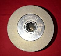 "Barient #22 2-Speed Aluminum Marine Winch 5 Bolt Base - 5 3/4"" Height - 6"""