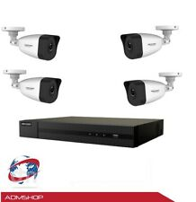 KIT TELECAMERE IP 8 CANALI NVR 4MPX POE HIKVISION HIWATCH 5 CAM hdd 1tb