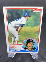 1983 Topps # 498 Wade Boggs ROOKIE CARD, Boston Red Sox (NR-MNT)