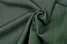 E33 TEAL BLUE BIRDS EYE WEAVE DELUXE150's FINE PURE LUXURY WOOL MADE IN ITALY