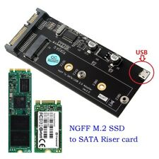 M.2 SSD Solid State Drive To 2.5Inch SATA 3 Interface Adapter Converter